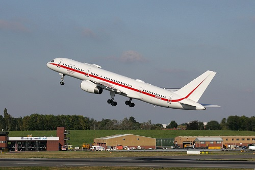 B757 Test Aircraft