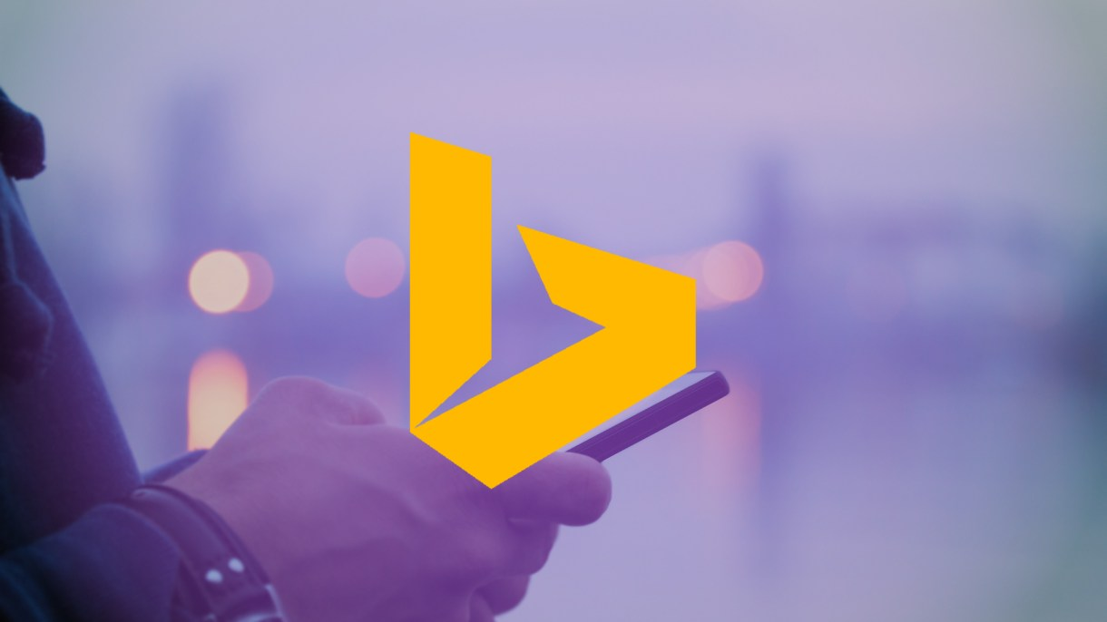 محرك بحث بينج يأتي بواجهة جديدة على iOS
