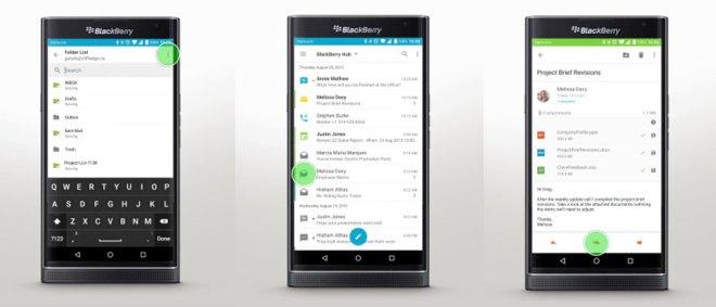 بلاك بيري تُحدّث حزمة تطبيقاتها Hub على أندرويد