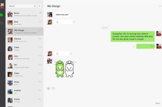 تطبيق WeChat متاح الآن على ويندوز 10 لأجهزة الحاسوب فقط