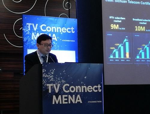 """وانغ بن، رئيس خبراء خدمات وحلول الفيديو في """"هواوي"""" الشرق الأوسط"""