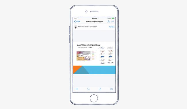 تحديث كبير يطال تطبيق دروب بوكس على iOS