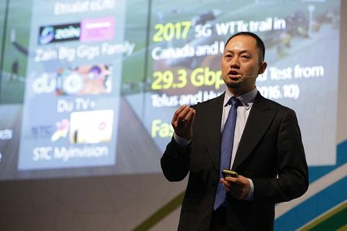 """كي هينغ، رئيس عمليات التسويق اللاسلكي لخطوط منتجات الشبكات اللاسلكية في شركة """"هواوي"""""""