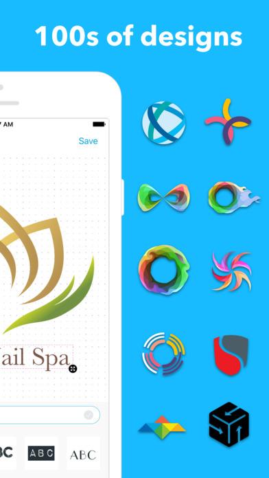 تطبيق Logo على iOS لتصميم الشعارات بدقائق