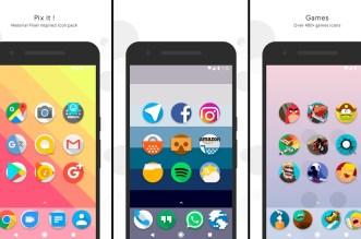 تطبيق Pix it يُقدّم حزمة الرموز في هواتف بكسل على هواتف أندرويد