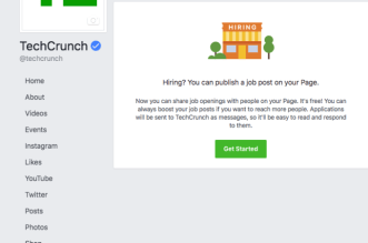 وظائف فيس بوك