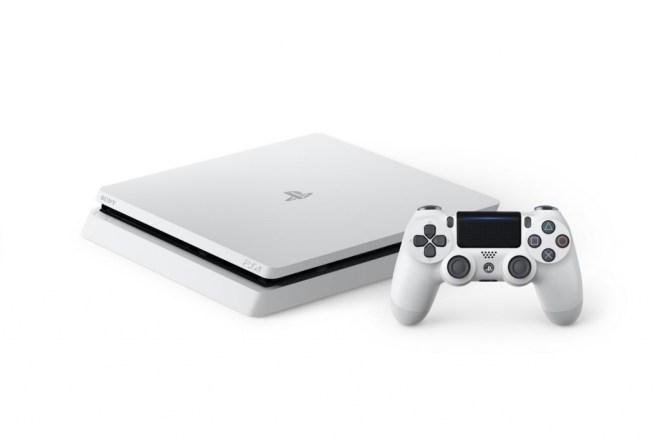 playstation 4 slim white