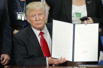 ترامب حظر مهاجرين