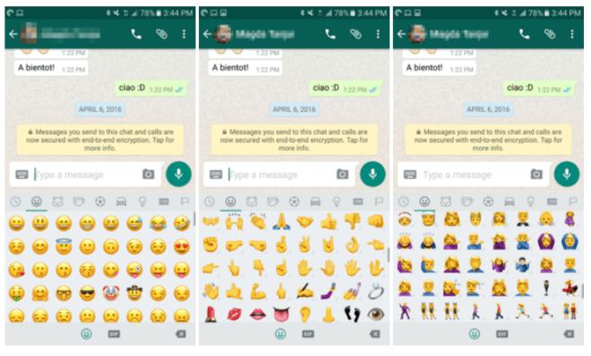 تحديث تجريبي لتطبيق واتساب يأتي بالكثير من الرموز التعبيرية الجديدة