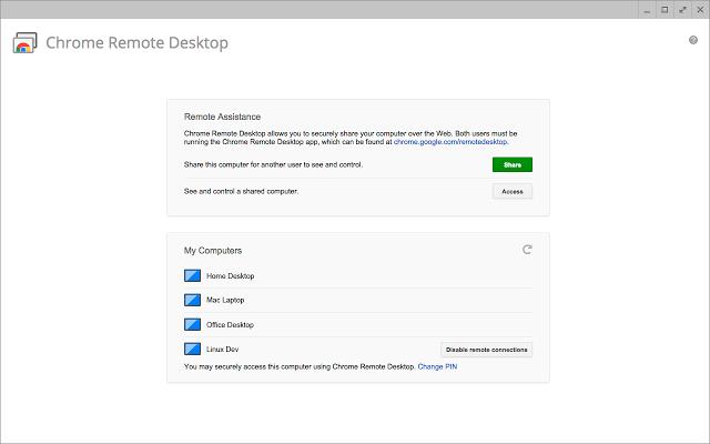 تطبيق Chrome Remote Desktop تحكّم بجهازك الحاسوب عبر أندرويد