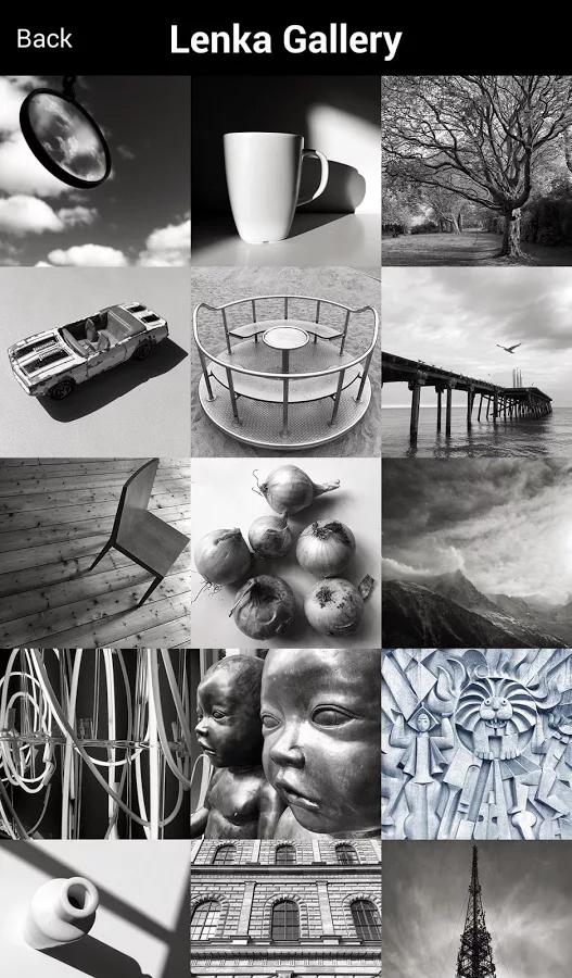 تطبيق Lenka لإلتقاط صور بخاصية الأبيض والأسود بشكل فوري