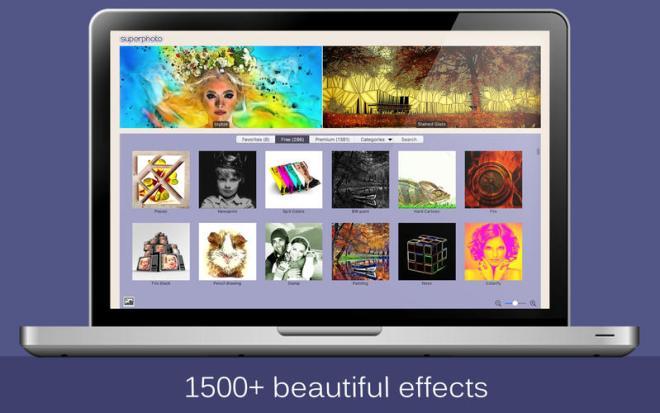 تطبيق SuperPhoto لتحويل صورك إلى لوحة فنية على iOS وماك