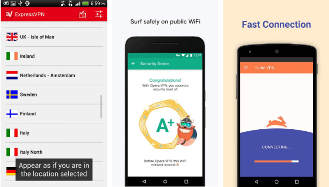 5 من أفضل تطبيقات VPN المجانية على أندرويد