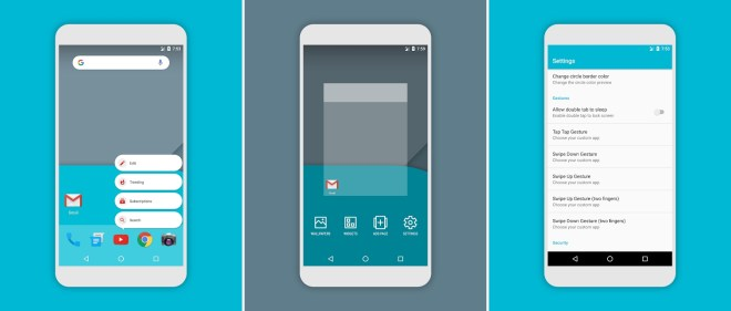 تطبيق اللانشر الجديد Flick المستوحى من أسلوب قوقل بيكسل