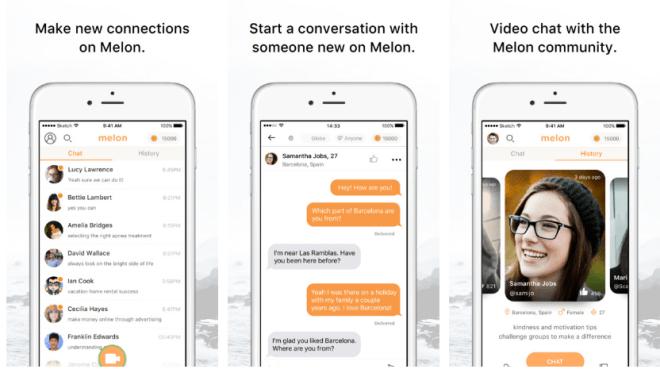 تطبيق Melon للدردشة نصًا وفيديو مع آخرين يشاركونك بنفس الإهتمام