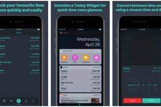 تطبيق Zones لمعرفة وقت أي مدينة وبلد في العالم