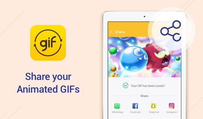 تطبيق DU GIF Maker لإنشاء صور GIF من فيديو او مجموعة صور