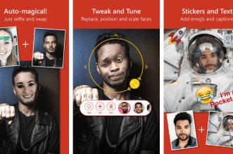 مايكروسوفت تُتيح تطبيقها Face Swap لمبادلة الوجوه على iOS
