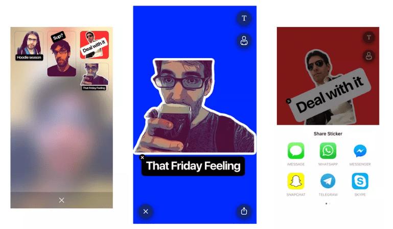 بريزما تُطلق تطبيقها الجديد Sticky AI لتحويل الصور لملصقات تعبيرية