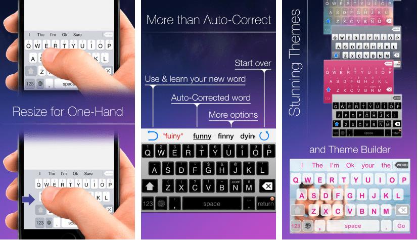 قم بالكتابة بيد واحدة على ايفون وذلك مع لوحة Blink