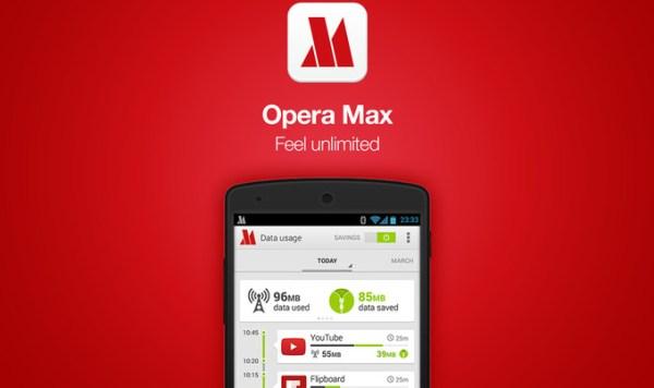 نهاية متصفح Opera Max