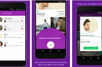 تطبيقانترتويند منصة إجتماعية للتواصل والتنافس