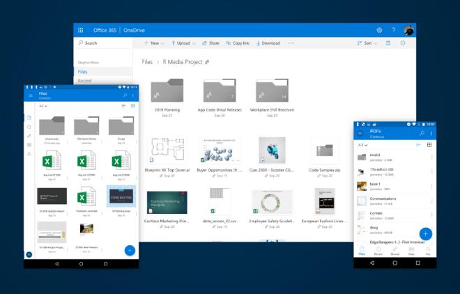 تحديث قادم لتطبيقOneDrive سيدعم معاينة الملفات دون فتحها