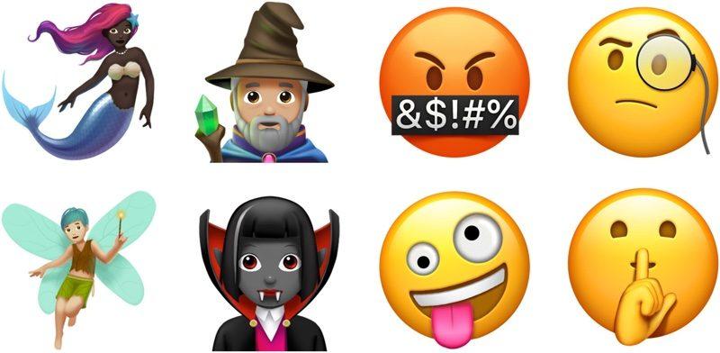 الوجوه التعبيرية iOS 11.1