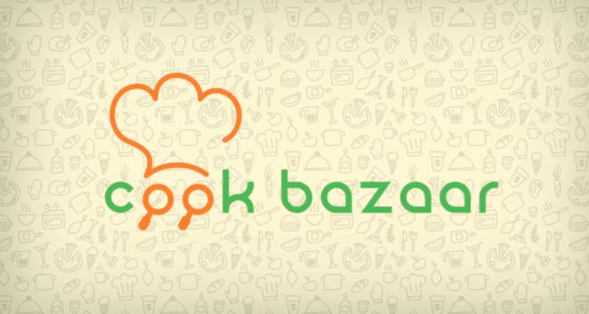 تطبيق CookBazaarسوق الوصفات المنزلية وطلبها