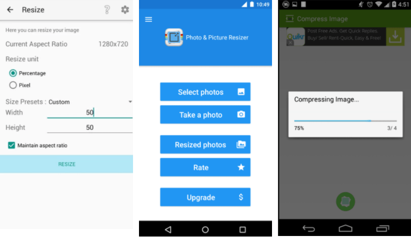 3 تطبيقات أندرويد لضغط الصور دون المساومة على الجودة