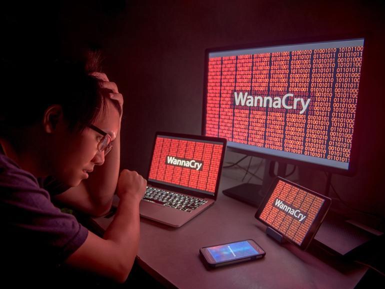 WannaCry هجمات انتزاع الفدية
