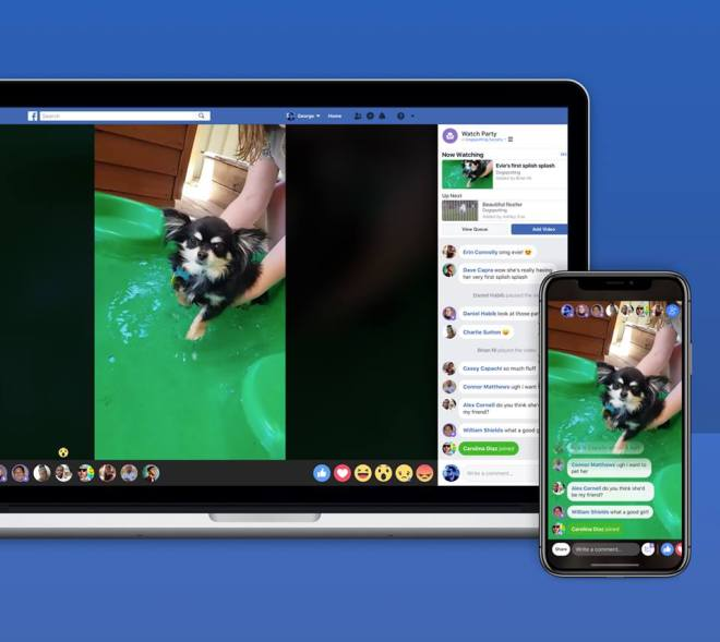 Facebook introduces Watch Party