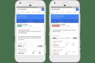 خدمة Google Flights تدعم الآن التوقع بتأخر رحلات الطيران