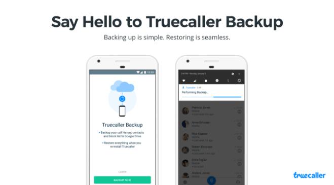 تحديثTruecaller على أندرويد يضم الآن خيار النسخ الاحتياطي وأكثر