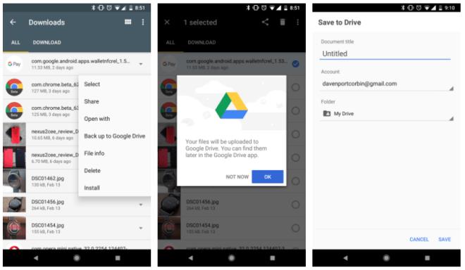 تطبيقFiles Go يدعم الآن حفظ الملفات احتياطيًا على قوقل درايف