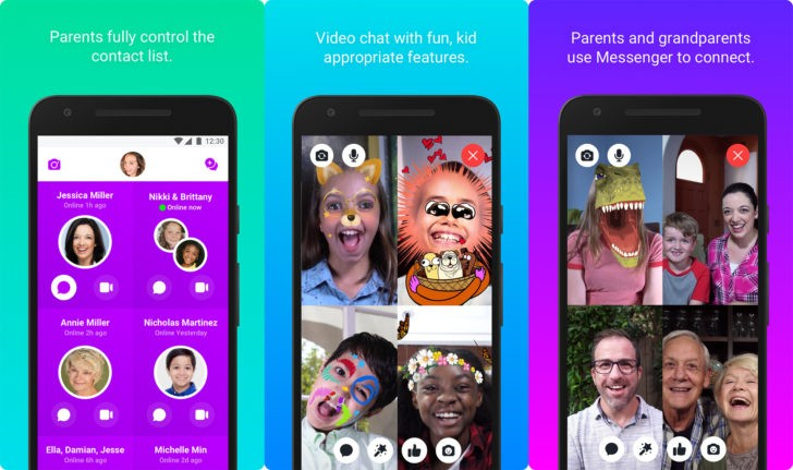 فيسبوك تطلق تطبيقها Messenger Kids على قوقل بلاي