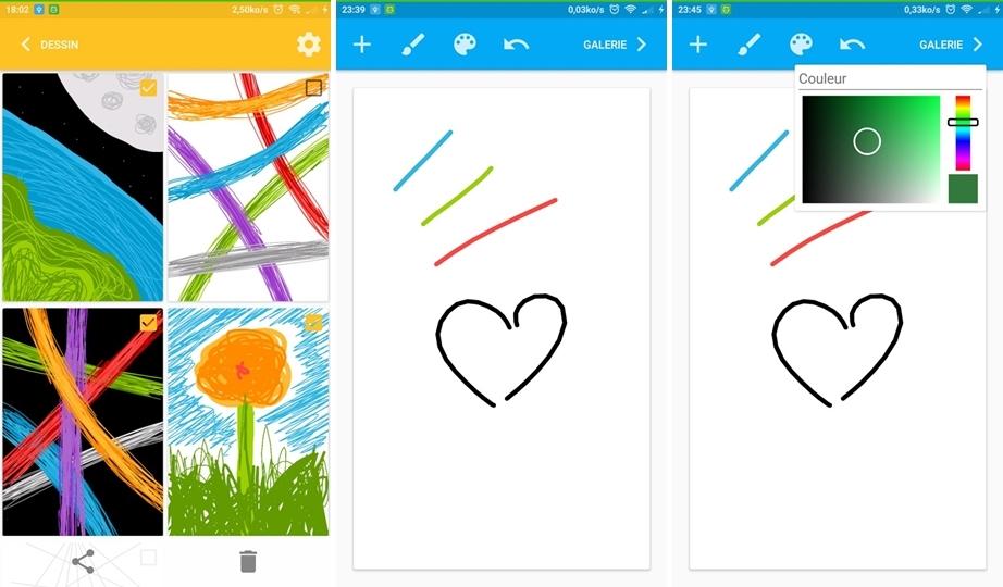 تطبيق الرسم الجديدSketchIt على أندرويد