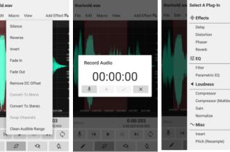 تطبيقWavStudio الجديد أداة مهنية لتحرير وتسجيل الصوت في أندرويد