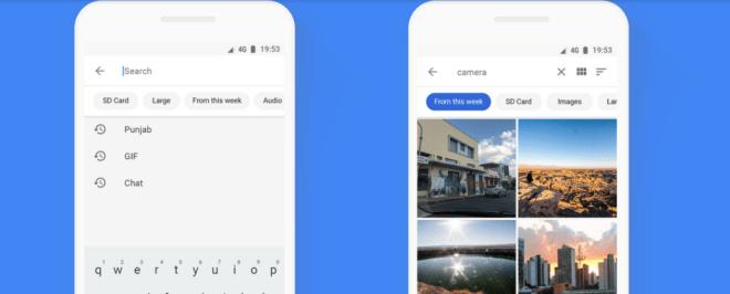 قوقل تُحدّث تطبيقهاFiles Go مع قدومه بواجهة جديدة كليًا