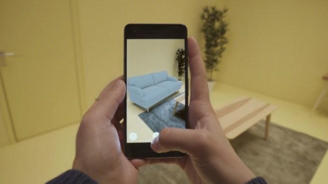 IKEAتُقدّم تطبيقهاIKEA Place لمشاهدة الأثاث بالواقع المعزز في أندرويد