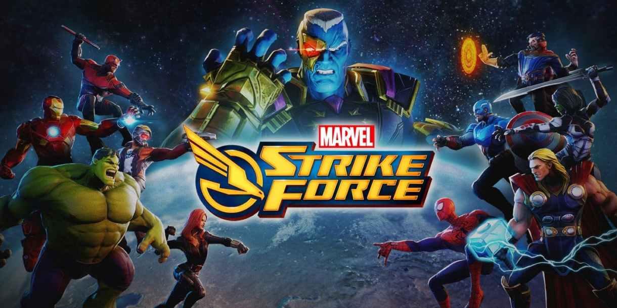 أخيرًا إطلاق لعبةMARVEL Strike Force على أندرويد و iOS
