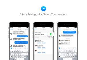 فيسبوك ماسنجر يحصل على امتيازات إشراف جديدة لمسؤولي المجموعات