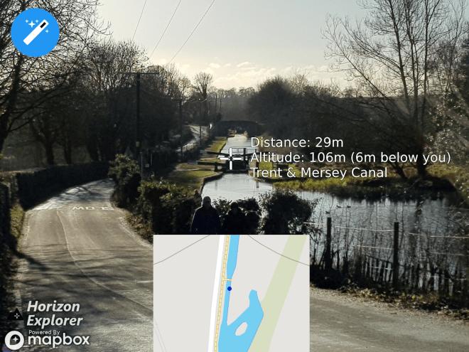 """تطبيق Horizon Explorer لقياس المسافة عبر توجيه الكاميرا """"ARCore"""""""