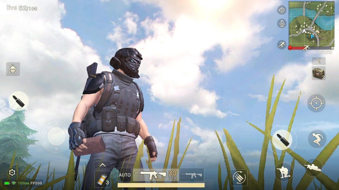 Knives Out - 4 ألعاب المغامرات وتحدي البقاء شبيهه بلعبة Fortnite الشهيرة للأندرويد