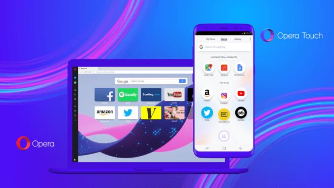 أوبرا تُطلق متصفحها الجديد Opera Touch
