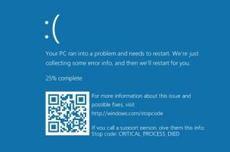 مايكروسوفت تؤجل إطلاق تحديث ويندوز 10 بسبب مشاكل توقف النظام