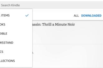 تطبيقKindle يدعم الآنالعثور بسرعة على الكتب المسموعة