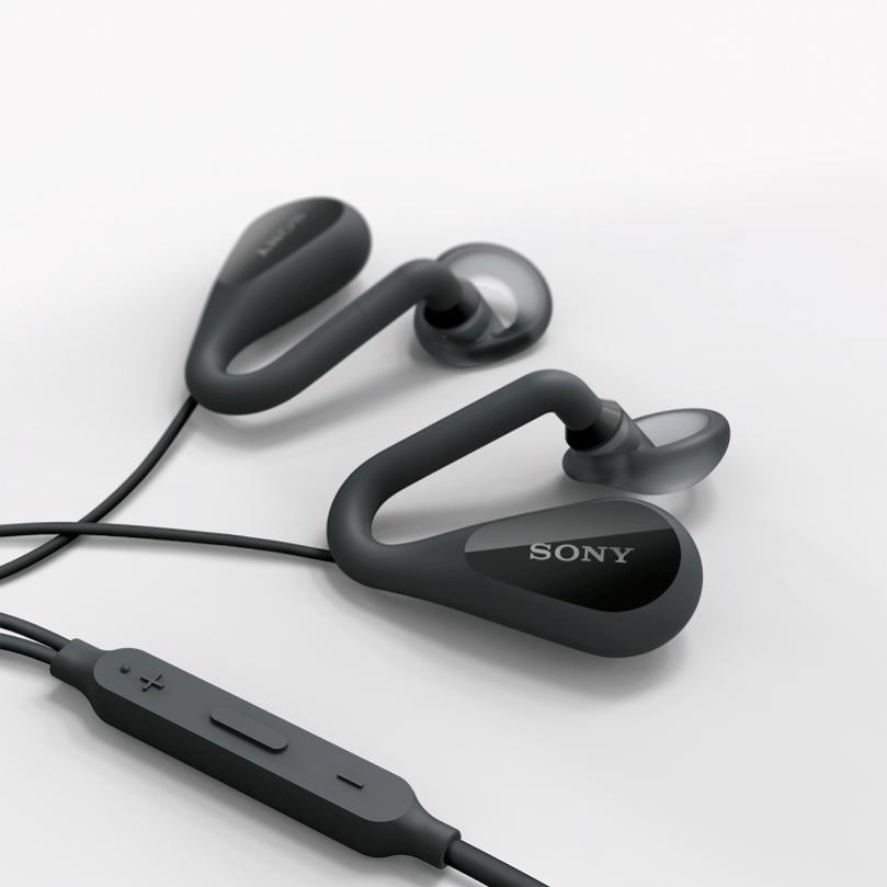 Open-ear Stereo Headset_STH40D_Black