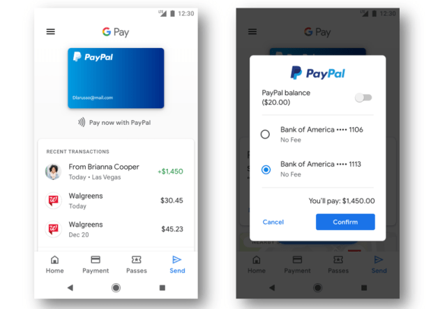 Paypal lets you spend money in Gmail, YouTube and more