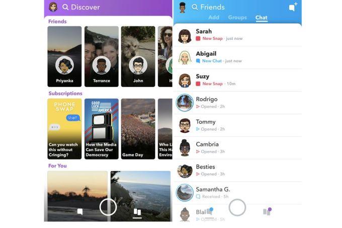 تصميم سنابشات الجديد يبدأ بالوصول للمستخدمين